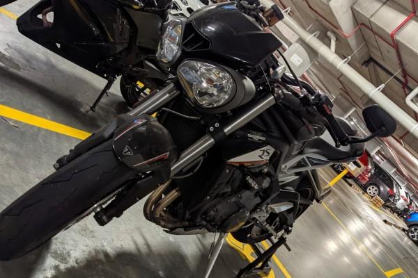 Motorcycle Triumph Street Triple RS 2017