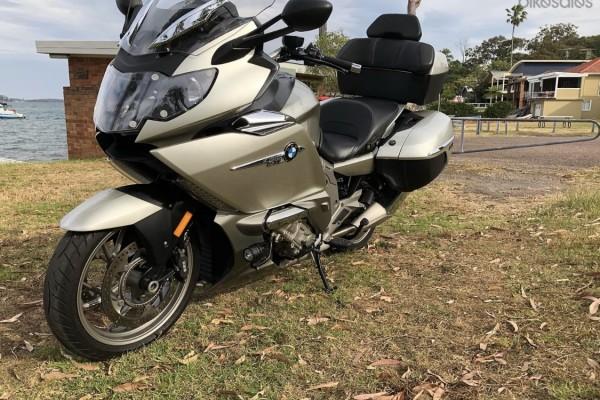 Motorcycle Bmw K1600 gtl