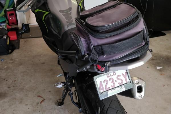 Motorcycle Kawasaki Versus X-300