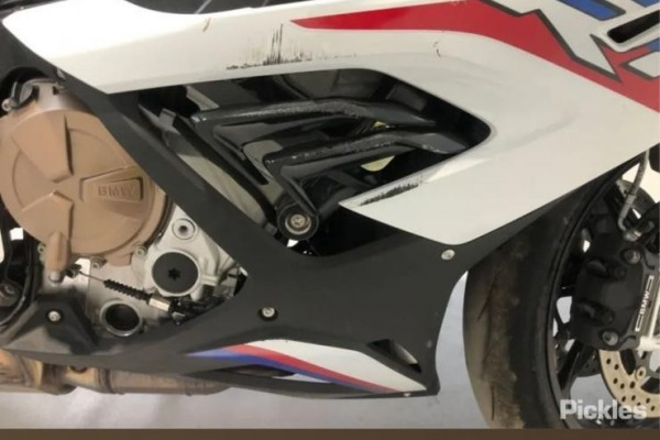 Motorcycle bmw 1000 rr